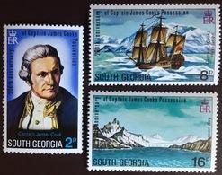 South Georgia 1975 Captain Cook MNH - Südgeorgien