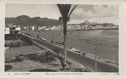 X121815 COMUNIDAD VALENCIANA ALICANTE MARINA BAJA BENIDORM VISTA GENERAL DESDE PONIENTE - Alicante