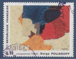 = Composition, De Serge Poliakoff N°2554 Oblitéré Série Artistique - Frankreich