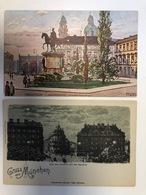2AK. Odeonplatz Und Gruss Aus ... Mindscheinkarte - Muenchen