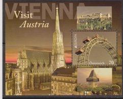 """Österreich 2012: Block """"EUROPA-Visit Austria"""" Posrfrisch - 1945-.... 2ème République"""
