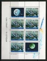 POLOGNE 1971 FEUILLET APOLLO 15  YVERT N°B53 NEUF MNH** - Espace