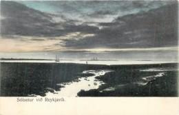 Islande - Reykjavik - Solsetur Viô - Coucher De Soleil - Islande