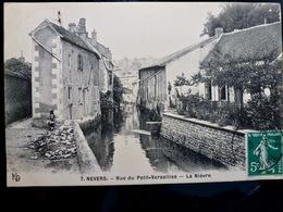 CARTE POSTALE _ CPA VINTAGE : NEVERS _ Rue Du Petit Versailles - La Nièvre _ 1912   // CPA.VIDAL.L4.10 - Nevers