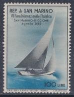 Saint-Marin N° 396 X 7ème Foire Internationale Philatélique à Riccione Trace De Charnière Sinon TB - Oblitérés