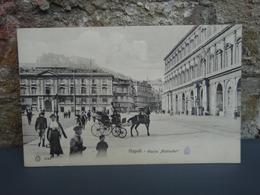 Napoli Piazza Plebiscito Carte Non écrite. - Napoli (Naples)