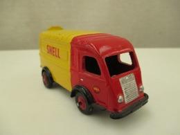 VOITURE - MINIATURE - 1/43 Em -  1000Kg Renault -C I J  - Peinture  Jaune Et Rouge  SHELL - Toy Memorabilia