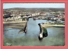 BOULOGNE SUR MER L ENTREE DU PORT CARTE EN BON ETAT - Boulogne Sur Mer