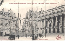 FR44 NANTES - 45 - Grande Semaine Maritime - Aout 1908 - Animée - Belle - Nantes