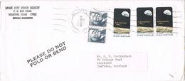 33809. Carta Aerea BELLAIRE (Texas) 1969. Remitida De HOUSTON. APOLLO 8 Stamps - Estados Unidos