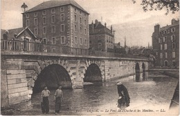 FR21 DIJON - LL 147 - Le Pont De L'ouche Et Les Moulins - Animée - Belle - Dijon