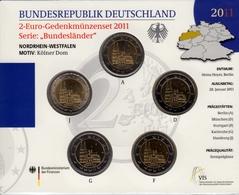 Bund 2 € Serie Bundesländer: Nordrhein-Westfalen, 2011 Münzset, St - [10] Commemorations