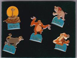 Coffret 5 Pin's - Livre De La Jungle - Disney