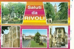 """5121 """" SALUTI DA RIVOLI-5 VEDUTE """"-PROVA DI STAMPA DELL'EDITORE """" ORIG. - Rivoli"""