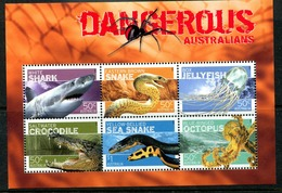 Australia 2006 Dangerous Australians MS MNH (SG MS2709) - Neufs