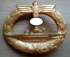 Alter Orden Ehrenabzeichen U-Boot 1943 ?? Del940945 - Allemagne