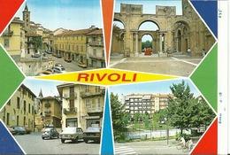 """5124 """" RIVOLI-4 VEDUTE""""-PROVA DI STAMPA DELL'EDITORE """" ORIG. - Rivoli"""