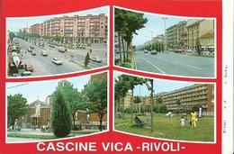 """5125 """" CASCINE VICA-RIVOLI-4 VEDUTE""""-PROVA DI STAMPA DELL'EDITORE """" ORIG. - Rivoli"""