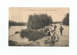 Bruxelles. - Parc De Woluwe - L'Etang Et Le Pont Rustique (1914). - Woluwe-St-Pierre - St-Pieters-Woluwe