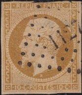 France  .   Yvert   .     9  (2 Scans)       .     O          .       Oblitéré - 1852 Louis-Napoléon