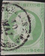 France  .   Yvert   .     12      .     O          .       Oblitéré - 1853-1860 Napoléon III