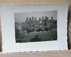 MONDOSORPRESA, ( FT11) FOTOGRAFIA  ANNO 1920/1930, GRUPPO DI MILITARI - Guerra, Militari