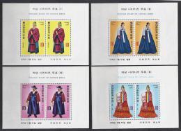 COREA DEL SUR 1973 - Yvert #H244/47 - MNH ** - Corea Del Sur