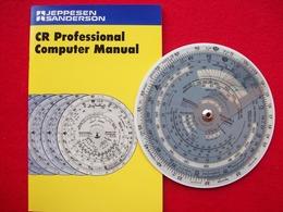 JEPPESEN SANDERSON CR-3 COMPUTER - GPS/Aviación