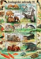Czech Republic - 2019 - Nature Protection - Zoological Gardens IV - Mint Souvenir Sheet - Tchéquie