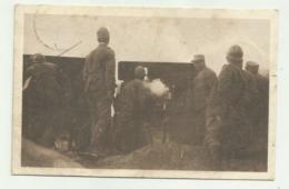 LA GUERRA D'ITALIA - SUL PIAVE, ARTIGLIERI DA CAMPAGNA IN AZIONE 1922  VIAGGIATA FP - War 1914-18