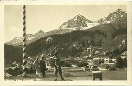 Suisse  - SAINT MORITZ - Joueur De Golf - GR Grisons