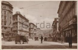 Italy - Trieste - Via Giosue Carducci - Tram - Old Time Car - Trieste