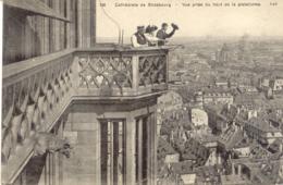 CPA - STRASBOURG - CATHEDRALE - VUE PRISE DU HAUT DE LA PLATEFORME - Strasbourg