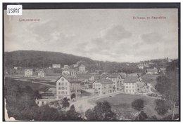 LAUSANNE - BELLEVAUX ET SAUVABELIN - B ( COIN BAS GAUCHE USE ) - VD Vaud