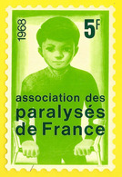 Assoc. Des Paralysés De France 1968 5f - Organisations