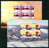 Australia 2008 Up, Up And Away Booklet Pane Set MNH (SG 2991-2994) - 2000-09 Elizabeth II