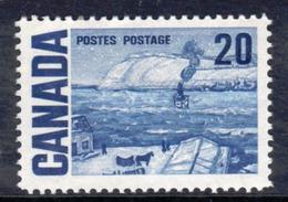 Canada 1967-73 Definitives, 20c Quebec Ferry Value, MNH, SG 587 - 1952-.... Reign Of Elizabeth II
