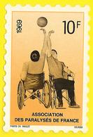 Assoc. Des Paralysés De France 1969 10f (Raulet Delrieu) - Organisations