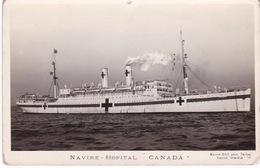 CROIX ROUGE(BATEAU HOPITAL CANADA) - Croix-Rouge