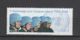 FRANCE / 2018 / Y&T N° 5220 ** : Hommage Aux Casques Bleus - Gomme D'origine Intacte - France