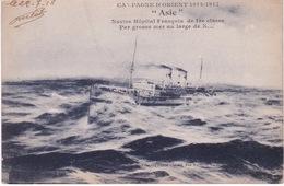 CROIX ROUGE(BATEAU HOPITAL) - Croix-Rouge