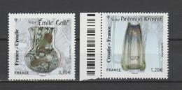 FRANCE / 2018 / Y&T N° 5275/5276 ** : France-Croatie (Gallé & Krasnik) Dont 1 BdF G - Gomme D'origine Intacte - France