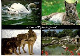 CPSM  Parc Animalier De GRAMAT  Multi Vues - Autres