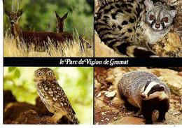 CPSM  Parc Animalier De GRAMAT  Multi Vues - Animaux & Faune