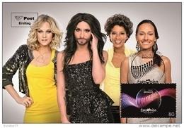 Austria 2015 -  Eurovision Song Contest Vienna 2015 Maxicard - Sin Clasificación