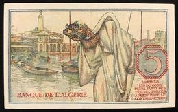Tunisia 5 Francs  1944-10-02 KM#15 Lotto 443 - Tunisie