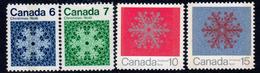 Canada 1971 Christmas Set Of 4, MNH, SG 687/90 - 1952-.... Reign Of Elizabeth II