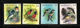 OISEAUX  VANUATU   NEUF Sans Charnière   N° 639 à 642     N**  1982   Cte:  7.30 € - Vanuatu (1980-...)