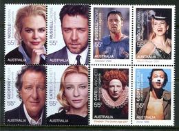Australia 2009 Australian Legends - 13th Issue - Legends Of The Screen Set MNH (SG 3113-3120) - 2000-09 Elizabeth II