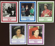 South Georgia 1986 Queen's Birthday MNH - Südgeorgien